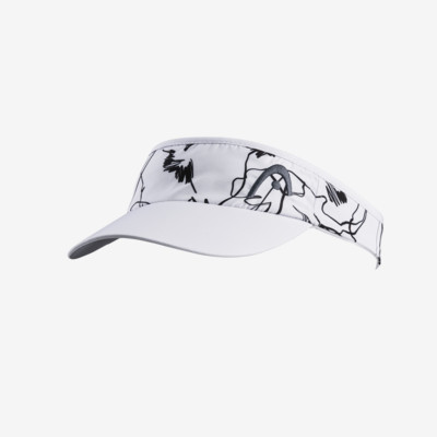 Product detail - Pro Player Womens Visor Waterlilly white/grey