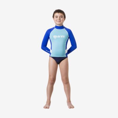 Product detail - Rash Guard Junior - Long Sleeve - Boy blue