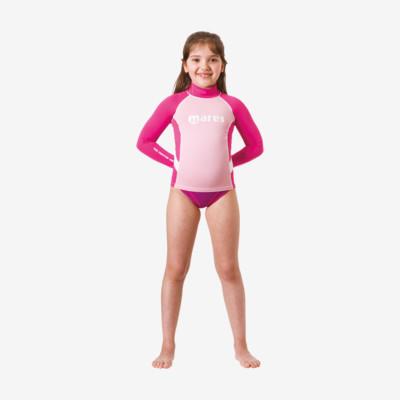 Product detail - Rash Guard Junior - Long Sleeve - Girl pink