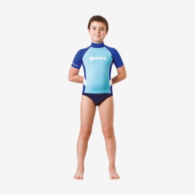 Product detail - Rash Guard Junior - Short Sleeve - Boy blue