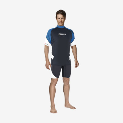Product detail - Rash Guard Loose Fit Short Sleeve blue