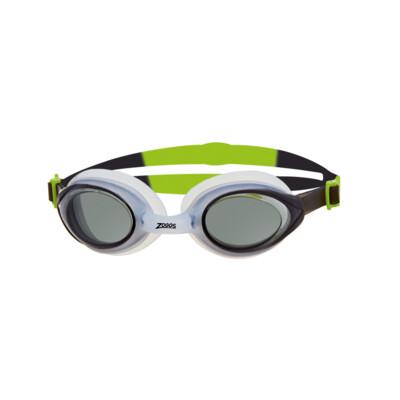 Product detail - Bondi Goggle White/Blue - Tinted Smoke Lens