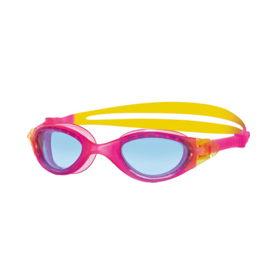 Product detail - Panorama Junior Goggles Pink/Yellow - Tinted Blue Lens