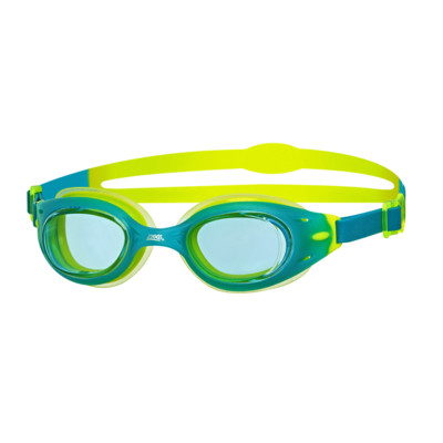 Product detail - Sonic Air Junior Goggles Green/Lime - Tinted Blue Lens