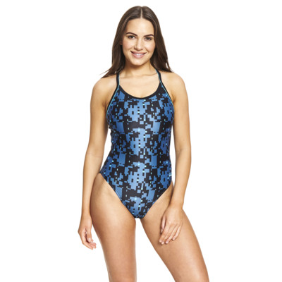 Product detail - Como Piped Sprintback Swimsuit