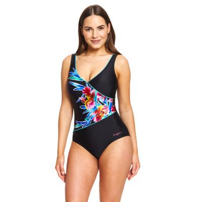 Product detail - Hybrid Tropics Wrap Front Swimsuit