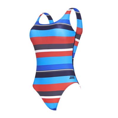 Product detail - Pop Block Scoopback Swimsuit