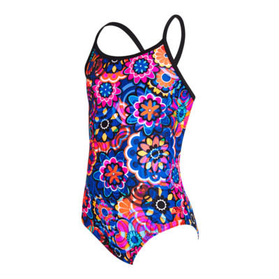 Product detail - Junior Girls Flower Sizzle Starback MT