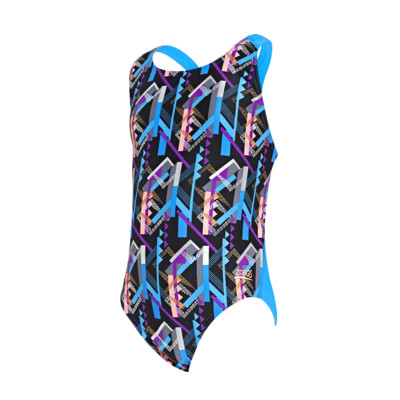 Product detail - Junior Girls Shimmer Flyback Swimsuit