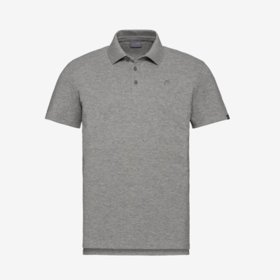 Product detail - HEAD Polo M grey melange