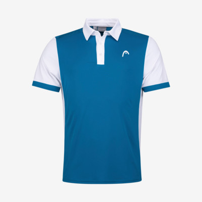Product detail - DAVIES Polo Shirt Men blue/white