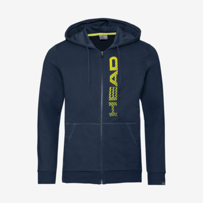 Product detail - CLUB FYNN Hoodie FZ M dark blue/yellow