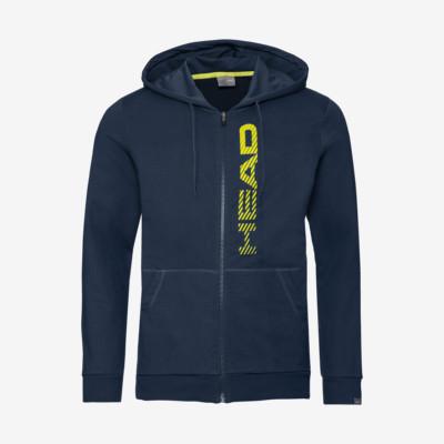 Product detail - CLUB FYNN Hoodie FZ M dark blue/yellow