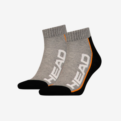 Product detail - SOCKS TENNIS 2P STRIPE QUARTER GRB