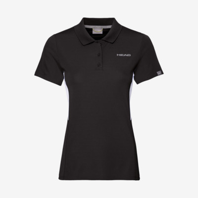 Product detail - CLUB Tech Polo Shirt W black