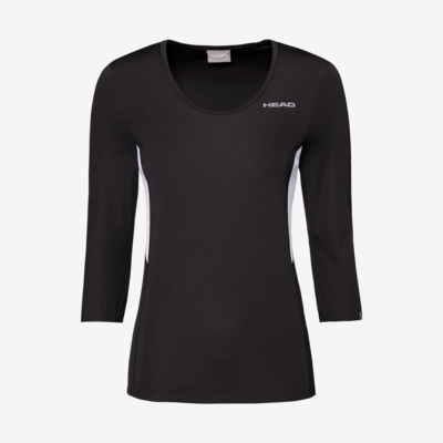 Product detail - CLUB Tech 3/4 Shirt W black