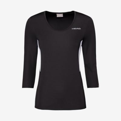 Product detail - CLUB Tech 3/4 Shirt W black
