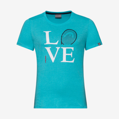 Product detail - LOVE T-Shirt W aqua