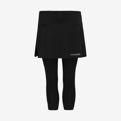 Product detail - CLUB 3/4 Tights Skort W black