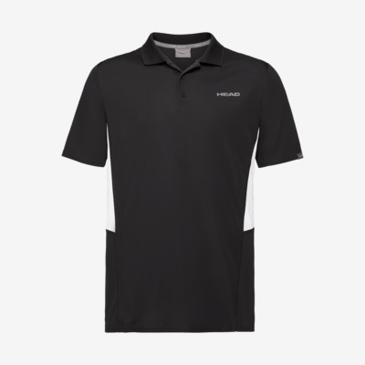 Product detail - CLUB Tech Polo Shirt B black