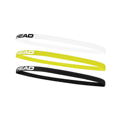 Product detail - HEAD Headband 3P black/white