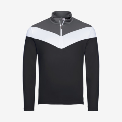 Product detail - STEVEN Midlayer Men black/anthracite