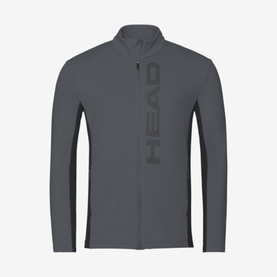 Product detail - ANTON Midlayer FZ Men anthracite/black