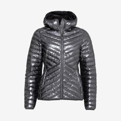 Product detail - PRIMA Hooded Jacket Women metallic iron gate