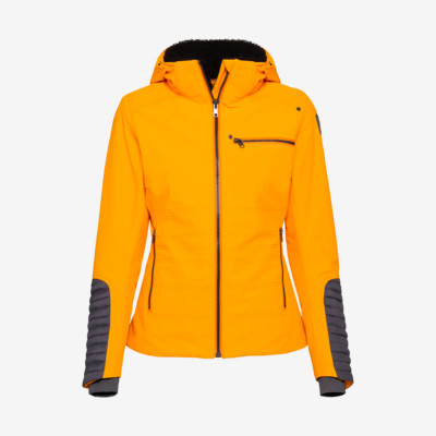 Product detail - REBELS Jacket Women orange/anthracite