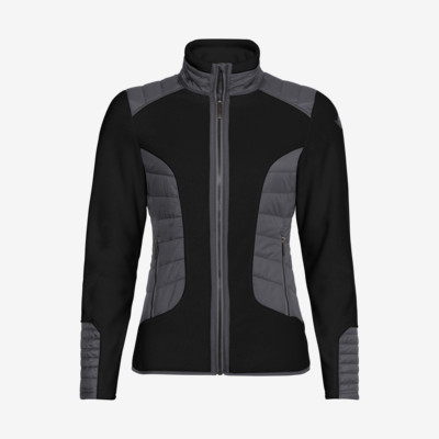 Product detail - REBELS Midlayer FZ Women black/anthracite