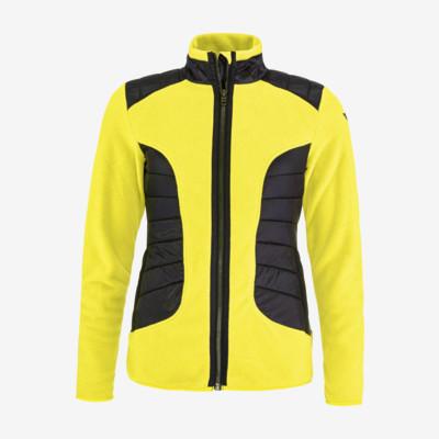 Product detail - REBELS Midlayer FZ Women lemon/black