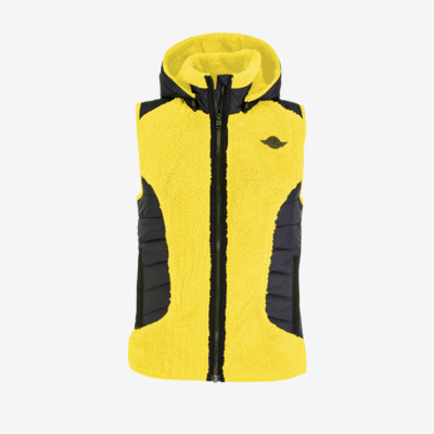 Product detail - REBELS Vest Women lemon/black