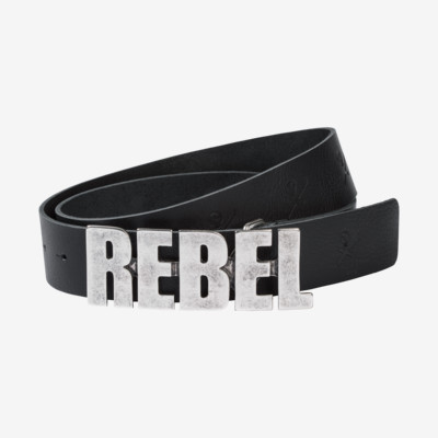 Product detail - REBELS Belt black