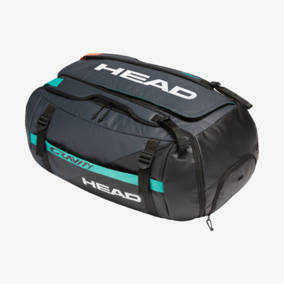 Product overview - Gravity Duffle Bag black/teal