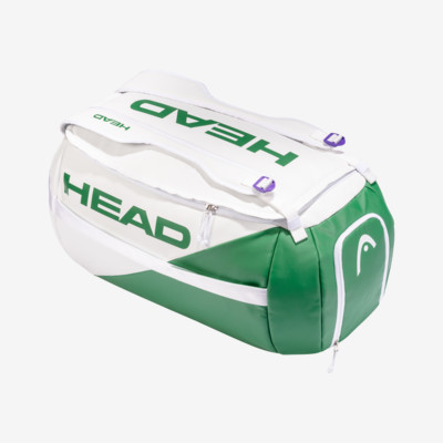 Product overview - White Proplayer Sport Bag white/green