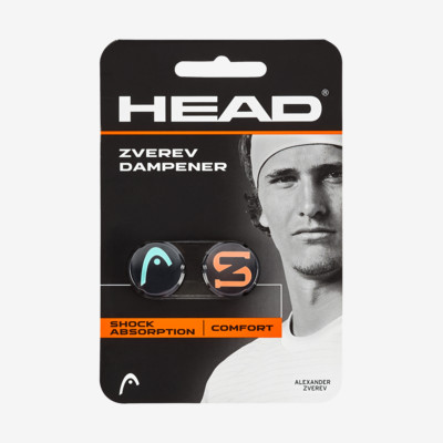 Product overview - Zverev Dampener teal/hot lava