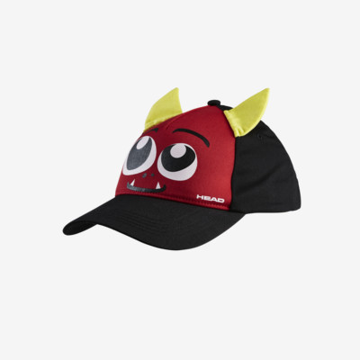 Product overview - Kids Cap Monster black/red