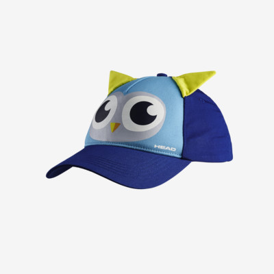 Product overview - Kids Cap Owl blue/light blue