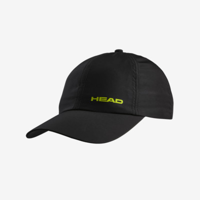 Product overview - Kids Light Function Cap Tonal black/yellow