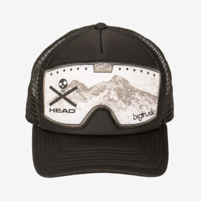 Product overview - HEAD BigTruck Cap Black Goggle