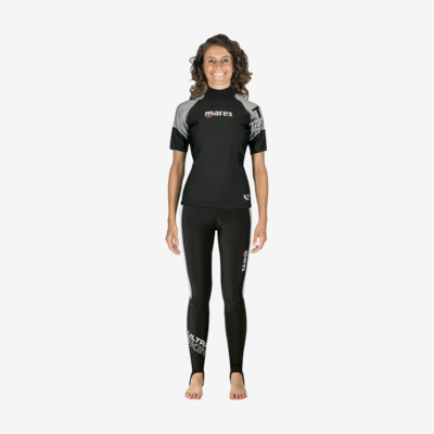 Product overview - Ultra Skin - Long Pants - She Dives black/grey