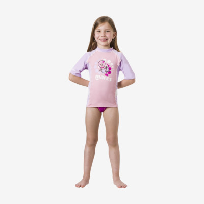 Product overview - Rash Guard Kid - Short Sleeve - Girl