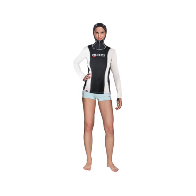 Product overview - Fireskin Long Sleeve with Hood - She Dives
