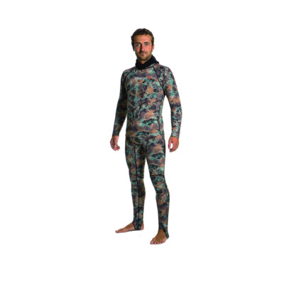 Product overview - Camo Rash Guard Top GN