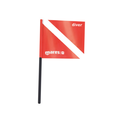 Product overview - Dive Flag 30.5 X 30.5 cm