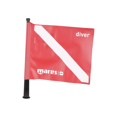 Product overview - Dive Flag 18.5 x 18.5 cm
