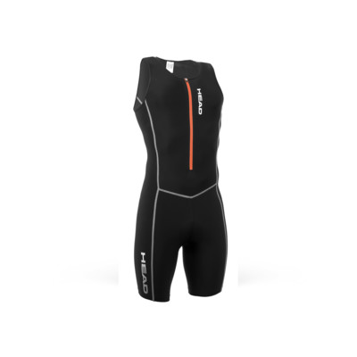 Product overview - TRI SUIT MAN with zip and padding black