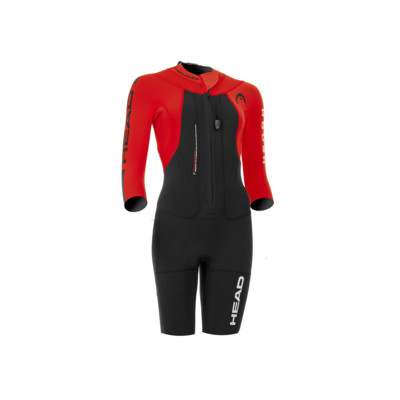 Product overview - SWIMRUN ROUGH  SHORTY (LADY) black/red