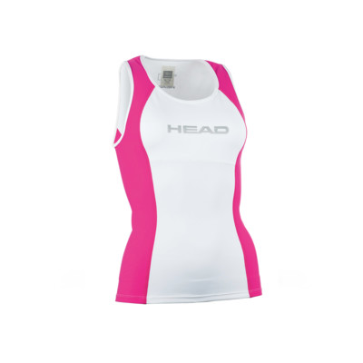 Product overview - TRI TOP LADY white/fuchsia