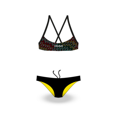 Product overview - TEAM PRINTED GIRL - BIKINI - LOW LEG CUT colors